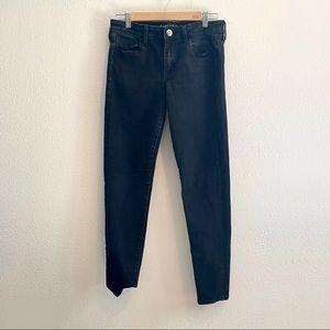 American Eagle Black Super Super Stretch X Jeans